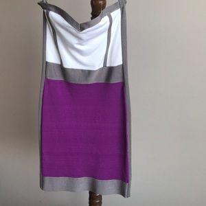 Bebe Color Block Dress New w/o Tags